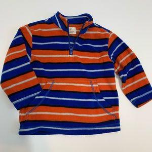 Hanna Andersson fleece pullover jacket sweater